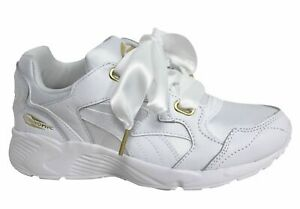 Puma Prevail Heart White Bow Lace Up