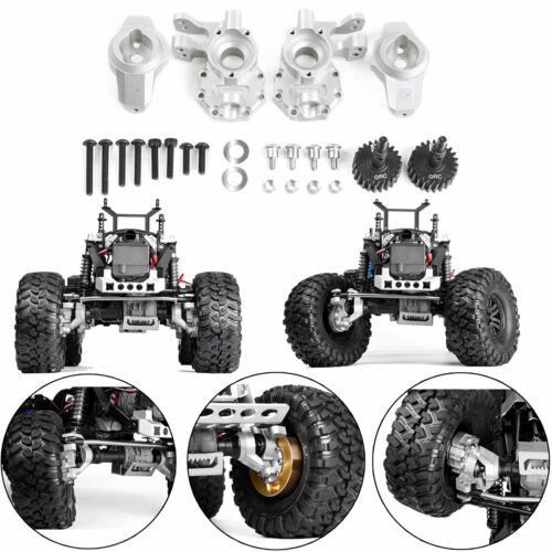 Metal roues directrices naufrage bloc C Hub Kit pour pour 1//10 Traxxas TRX4 Contrôle Radio Voiture