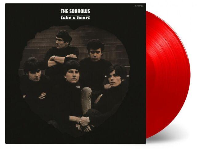 The Sorrows Prendre A Heart Vinyle LP 180 Grammes Coloré et Numéroté Neuf