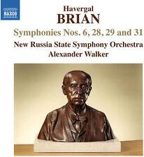 Brian / New Russia S - Symphonies Nos. 6 & 28 & 29 & 31 [New CD]
