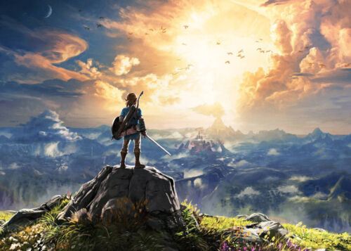 The Legend of Zelda Breath of the Wild poster 18 x 24 inches FAST USA SHIPPING