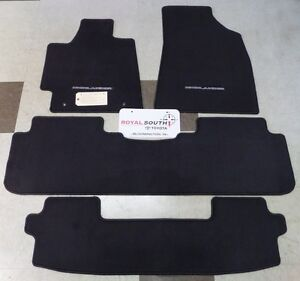 Toyota Floor Mats >> Toyota Highlander 2011 2013 Carpet Floor Mats Set Genuine Oem Oe