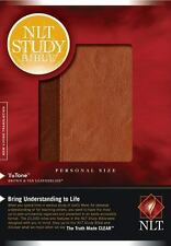 NEW Study Bible-NLT-Personal Size by Imitation Leather Book (English) New B14