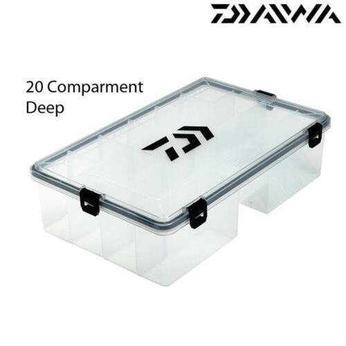 Daiwa BITZ Box Tackle Lure Compartiment Boîtes Gamme Complète grossier pêche