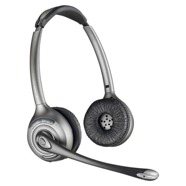 Plantronics CS520 Wireless Headset System Duo Headset W// HL10 Lifter