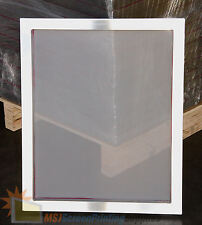 4 Pack - 20x24 Aluminum Frame Size - 110 White Mesh Silk Screen Printing Screens