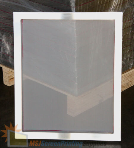 20x24 Aluminum Frame Size 110 White Mesh Silk Screen Printing Screens 4 Pack