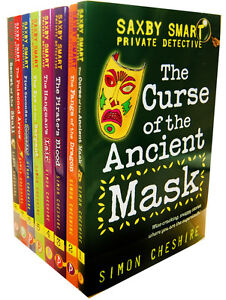 Simon-Cheshire-Saxby-Smart-Private-Detective-8-Books-Collection-Pack-Set-New