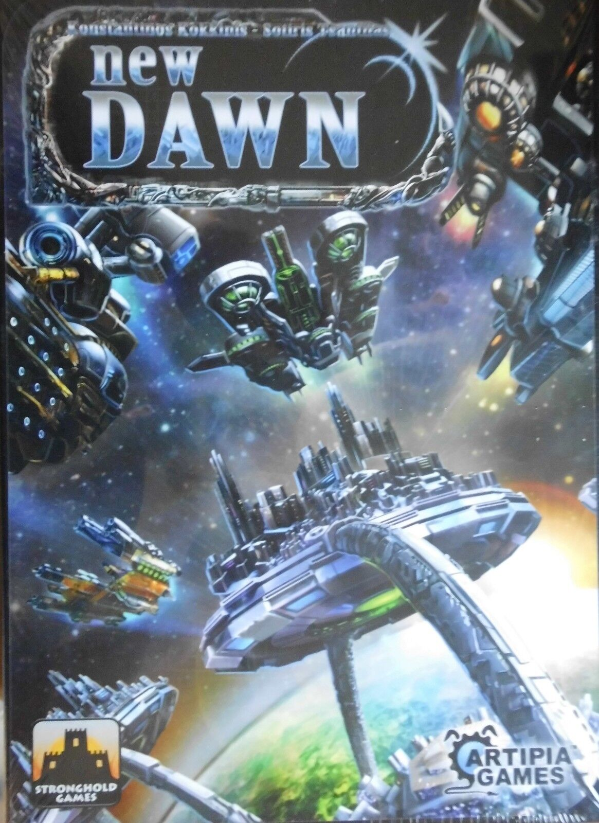 New New New Dawn      Stronghold Games     (OVP)     engl. Ausgabe 4fe8d5