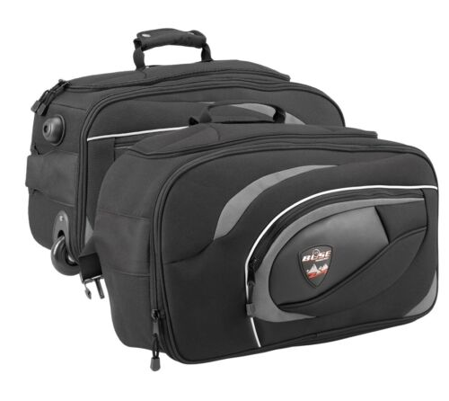 Büse Sacoches réfléchie Moto Pack poches avec Fonction Trolley