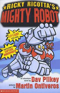 Ricky-Ricotta-039-s-Mighty-Robot-Pilkey-Dav-Very-Good-Book