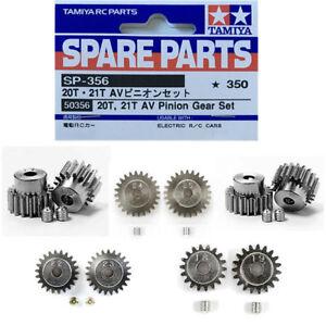 Tamiya-AV-Pinion-Gear-Set-50354-50355-50356-50357-50477-RC-Spare-Parts-Choose