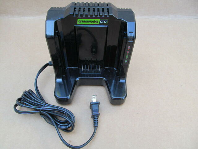 NEW GreenWorks 60-Volt Li-ion Lithium 60V Cordless Equipment Battery Charger