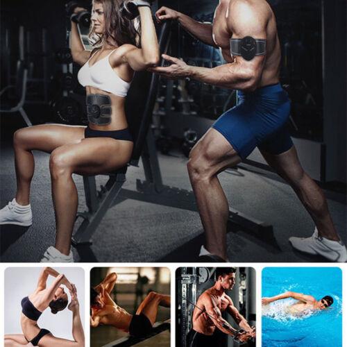 EMS appareil Abdominal fitness ceinture musculation bras cuisses abdos masseur