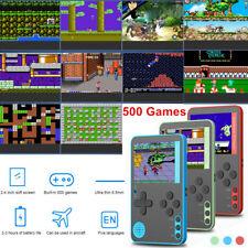 2.4'' Mini Handheld Retro Video Game Console Built-in 500 Classic Games Console