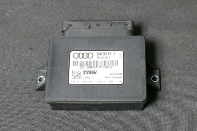 12km Audi A5 8T A4 Q5 Facelift Control Unit Parking Brake 8K0907801N