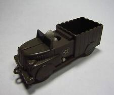 Vintage 50's Plasticraft US Army Truck Ducking Soldier