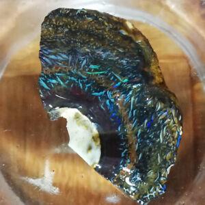 BIZARRE-intricate-patterned-46-25CT-VIDEO-Australia-Boulder-Opal-ROUGH