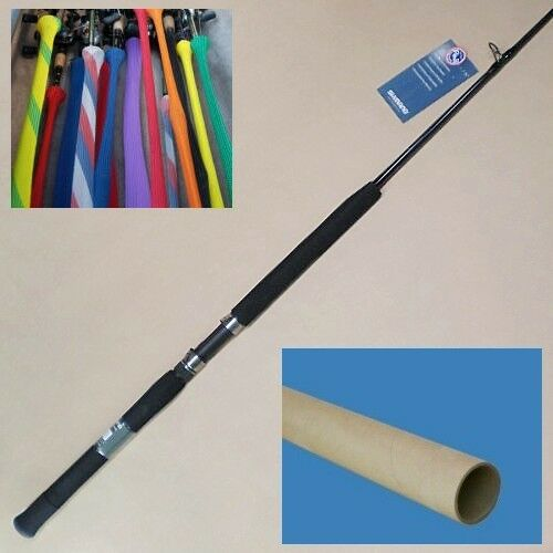 Shimano Tallus 6'6  bluee Water Casting Rod Saltwater Fishing  Med Hvy TLC66MHBBL