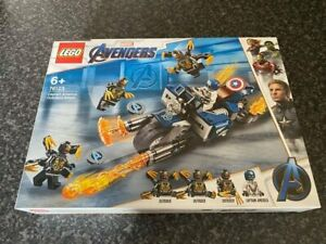 LEGO-MARVEL-76123-CAPTAIN-AMERICA-OUTRIDERS-ATTACK-SET-BOXED-NEW-SEALED
