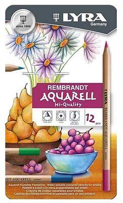 2011120 LYRA Rembrandt Aquarell Artists Colored Pencils Assorted Colors Set of 12 Pencils