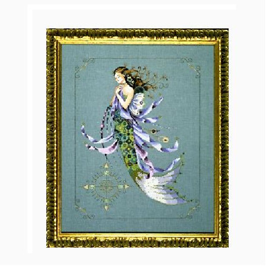 MD Mirabilia Nora Corbett design cross stitch  Shimmering Mermaid   MD71 Fantasy