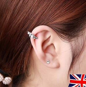 New Gold Silver Ear Cuff Clip Cartilage