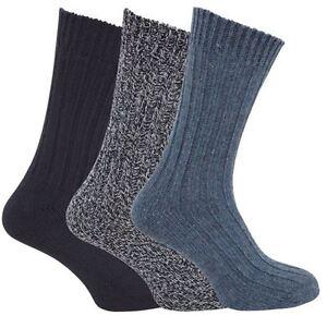 Kleidung & Accessoires 6 Pairs Herren Damen Klobig Wollmischung Wandern Stiefel Socken Lang/shorts Reich Und PräChtig