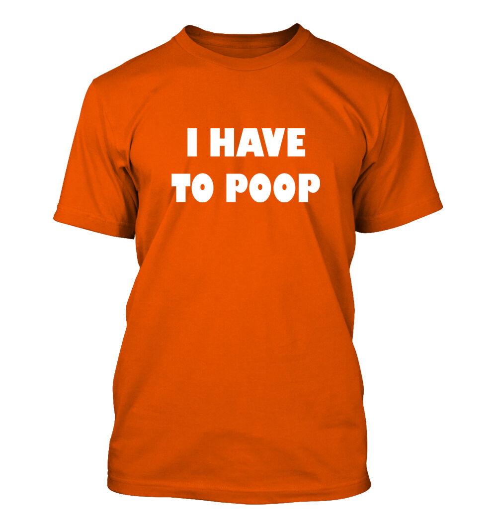 Gas Flatulence Deuce Toilet I Have to Poop #55 Men/'s V-Neck T-Shirt