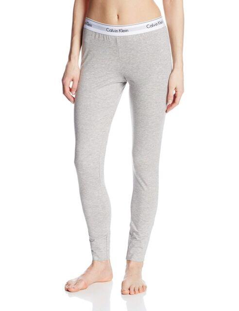 5ebc1f70ab Calvin Klein Women s Modern Cotton Legging Grey Heather Large for ...