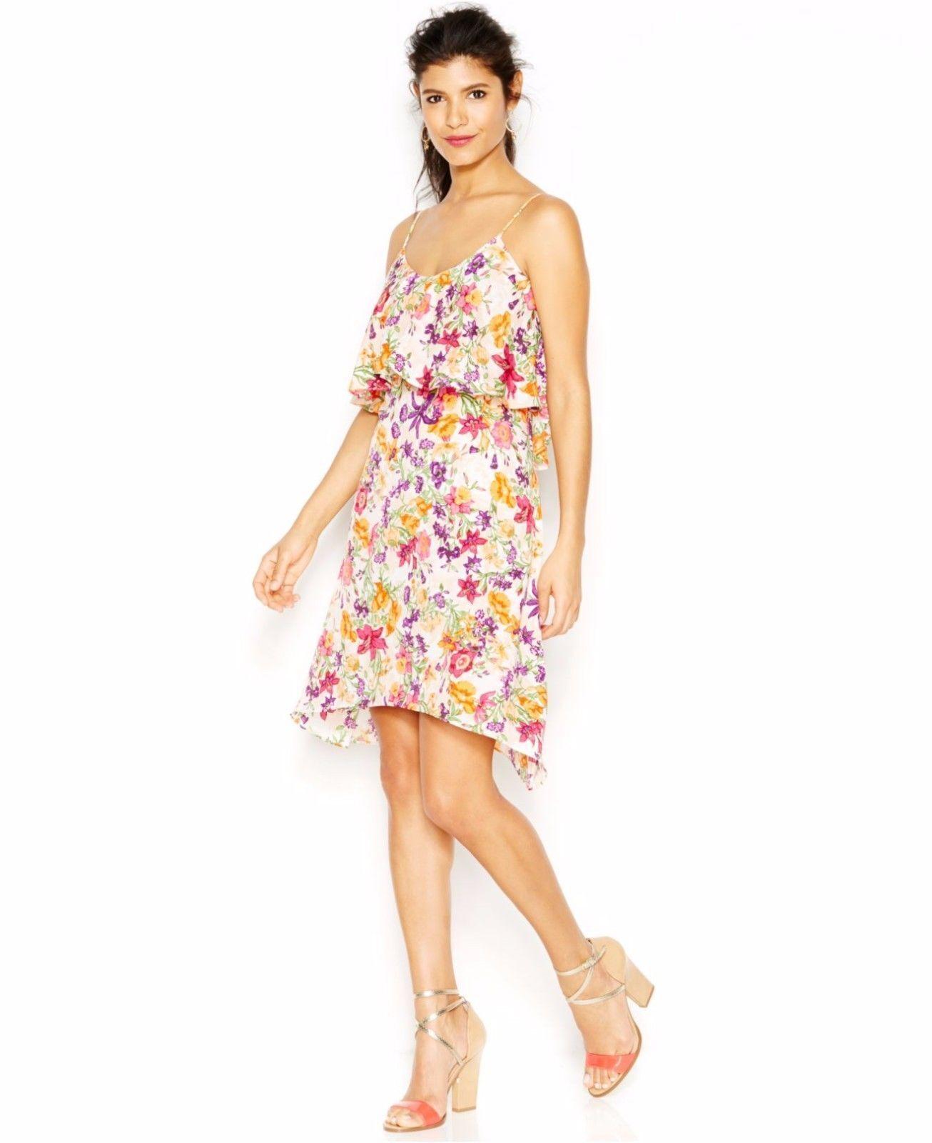 138 BCBGeneration Floral-Print Shift Dress, Medium