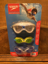 H20 Go Bestway Goggles Ages 14 Black in Case Anti Fog UV Protection for sale online