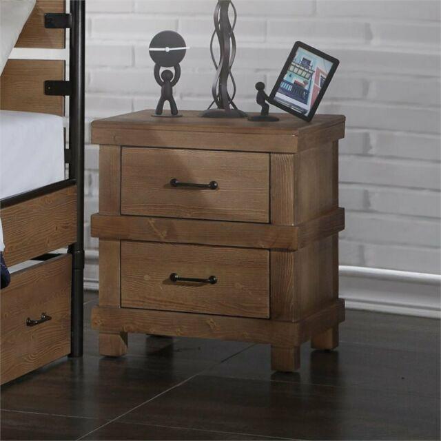 Acme Furniture 30613 Adams Nightstand Antique Oak For Sale Online Ebay