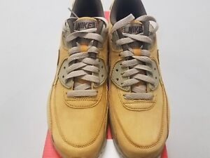 new product 56f56 b67c4 Image is loading Nike-Air-Max-90-Winter-PRM-Wheat-Bronze-