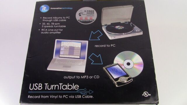 INNOVATIVE TECHNOLOGY ITUT-201 USB TURNTABLE DRIVERS DOWNLOAD