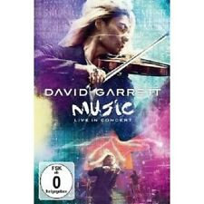 """DAVID GARRETT """"MUSIC LIVE IN CONCERT"""" DVD NEU"""