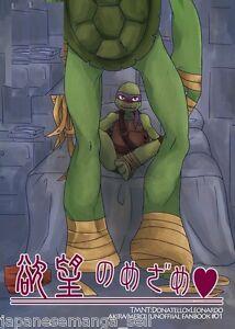 Teenage-Mutant-Ninja-Turtles-Yaoi-Doujinshi-A5-24pages-Yokubou-No-Mezame-Mero
