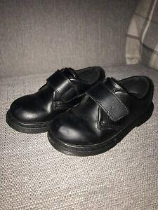 Boys dr martens school shoes   eBay