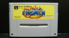FREE SHIP USED The Firemen Fire Men SFC Super Famicom japan