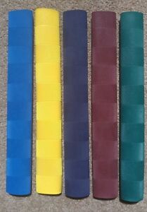 Oz Stock BLUE 3x CHEVRON Cricket Bat Grips