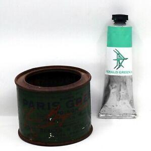 Emerald Green (Hue) - Handmade Oil Paint - 37ml