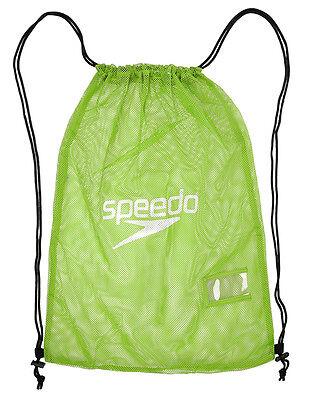 Speedo Equipment Mesh Bag Fluo Verde-