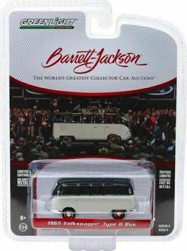 1965 VW t2 21 Window samba autobús *** GreenLight Barrett jackson 1:64 nuevo