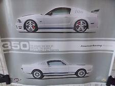 American Racing 50th Anniversary GT50 Mustang Wall Poster