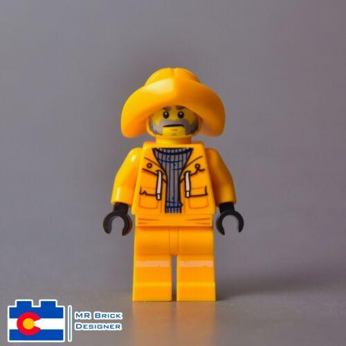 LEGO Hidden Side Minifigure Captain Jonas 70419 Sea Deadliest Catch Fisherman