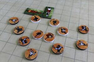 Weird-Western-2D-Miniatures-tabletop-RPG-tokens-NEW-handcrafted-west-horror