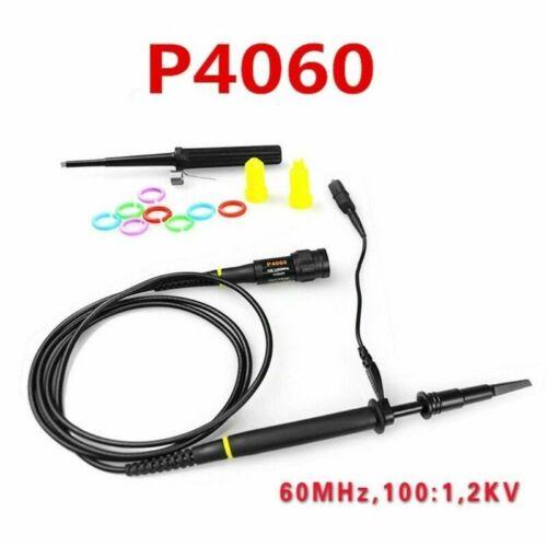 P4060 1:100 Hochspannung 2KV 2000V 60MHz Oszilloskop Scope Sonde 100X