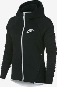 Nike Sportswear Tech Fleece Windrunner Full Zip Hoodie 930759-011 Women's XS