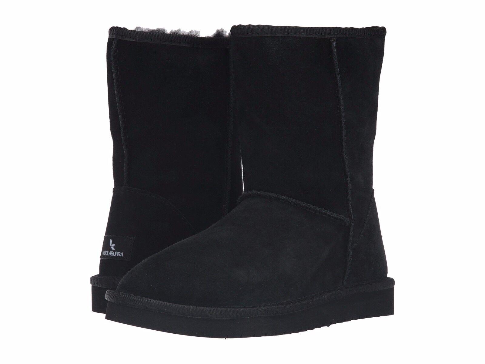 NEW NIB Women's Koolaburra Classic Short Winter Boots Choose Size Blk