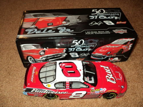 Dale JR Chevrolet 57 50th Anniversary Special Paint Scheme  8 Bud MONTE CARLO SS'07